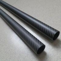 碳纤维圆管外观斜纹平纹亮光哑光