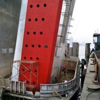 固定式钢覆复合材料桥梁防撞设施,桥梁防撞护舷,防船撞装置