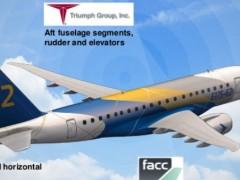 巴西航空工业和Triumph Group将联合进行热塑性复合材料结构飞行试验